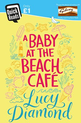 Book cover for A Baby at the Beach Cafe